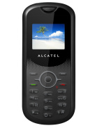 alcatel OT-106 MORE PICTURES