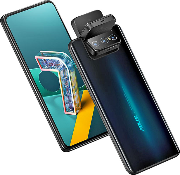 Asus Zenfone 7 Pro ZS671KS pictures, official photos