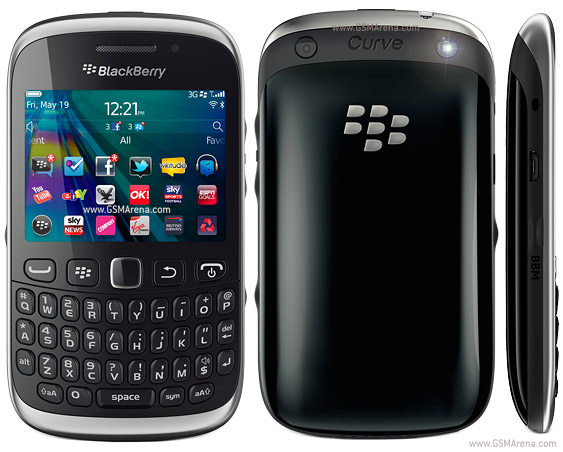 BlackBerry Curve 9320 pictures, official photos