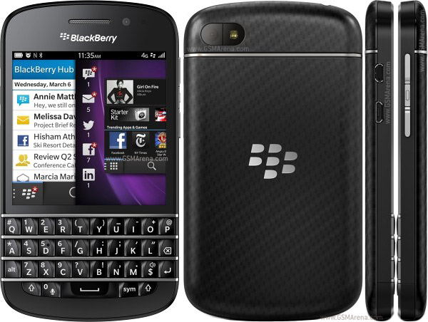Blackberry Q10 Pictures Official Photos