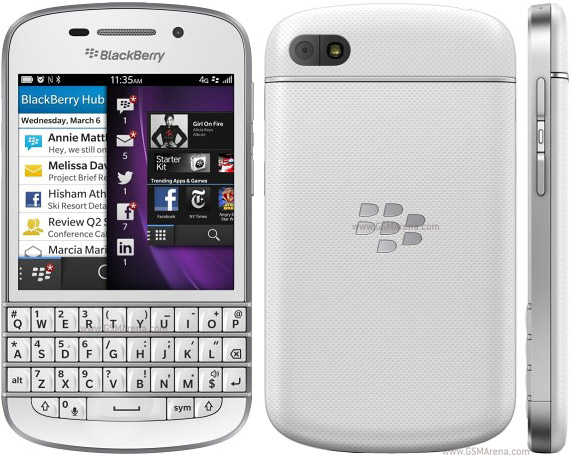 BlackBerry Q10 pictures, official photos