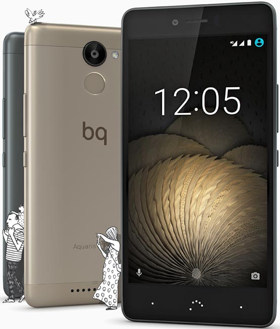 BQ Aquaris U Plus pictures, official photos
