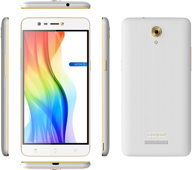 Coolpad Mega 3 pictures, official photos