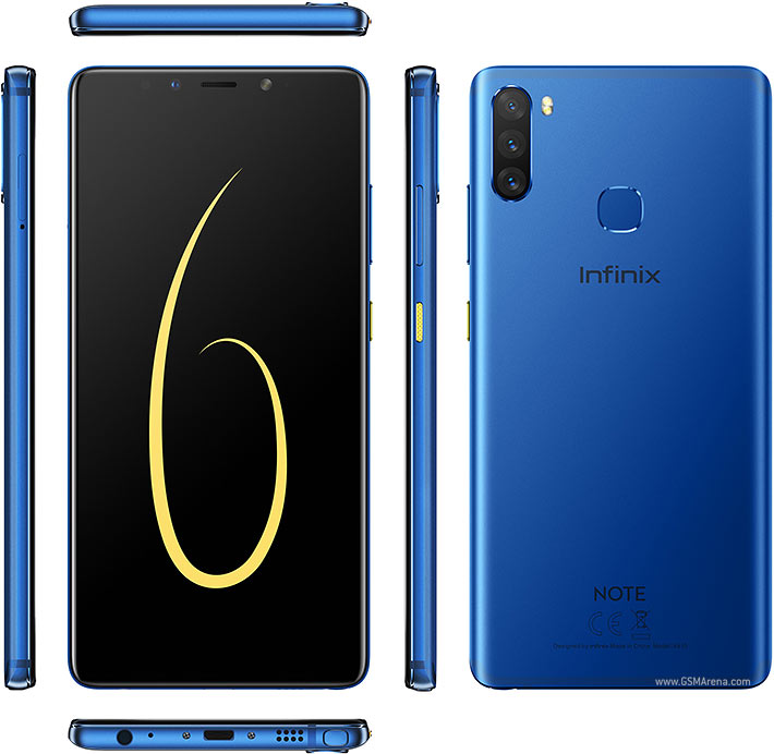Infinix Note 6 specifications: Design, performance and