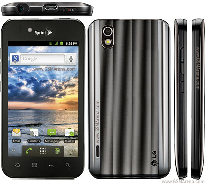 LG Marquee LS855