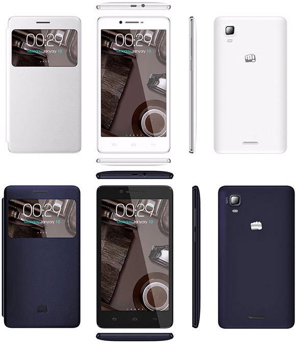 Micromax A102 Canvas Doodle 3 pictures, official photos