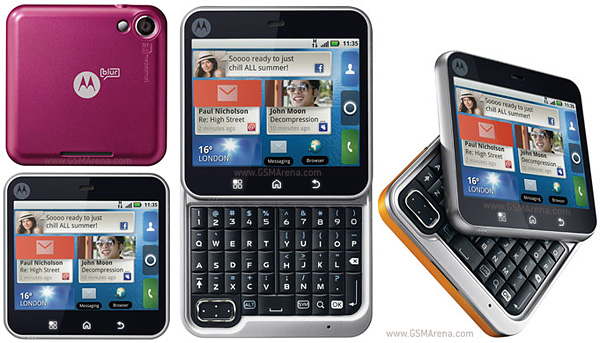Motorola FlipOut pictures, official photos