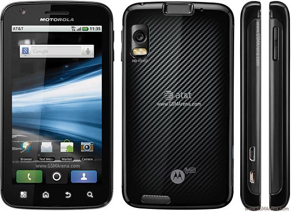 My Motorola Atrix 4G