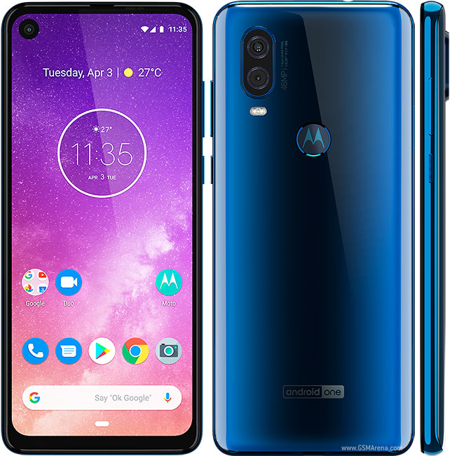 Motorola One Vision pictures, official photos