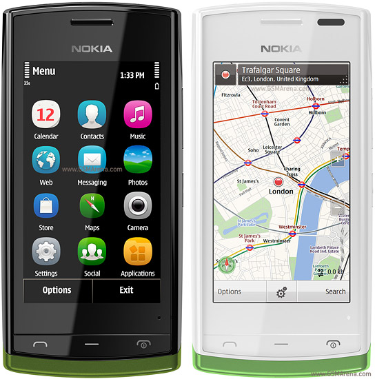 Nokia 500 pictures, official photos