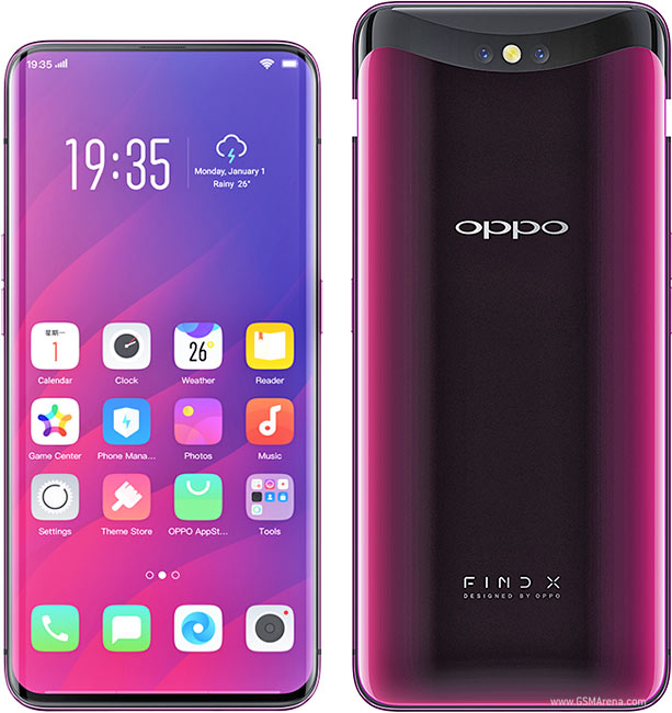 Oppo Find X pictures, official photos