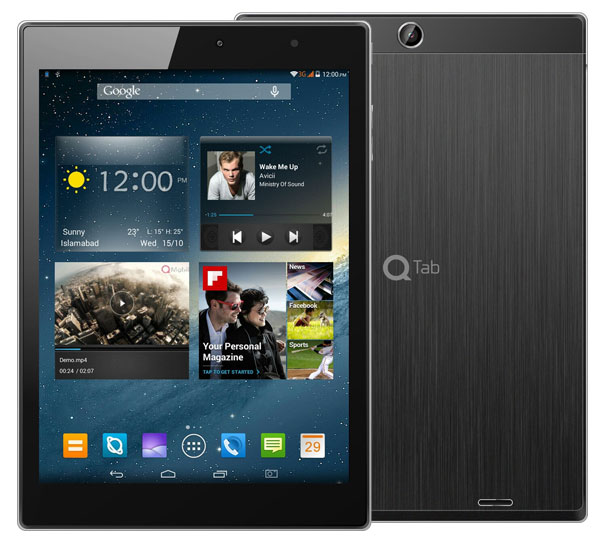 QMobile QTab V10 pictures, official photos
