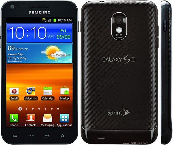 Samsung Galaxy S II Epic 4G Touch pictures, official photos