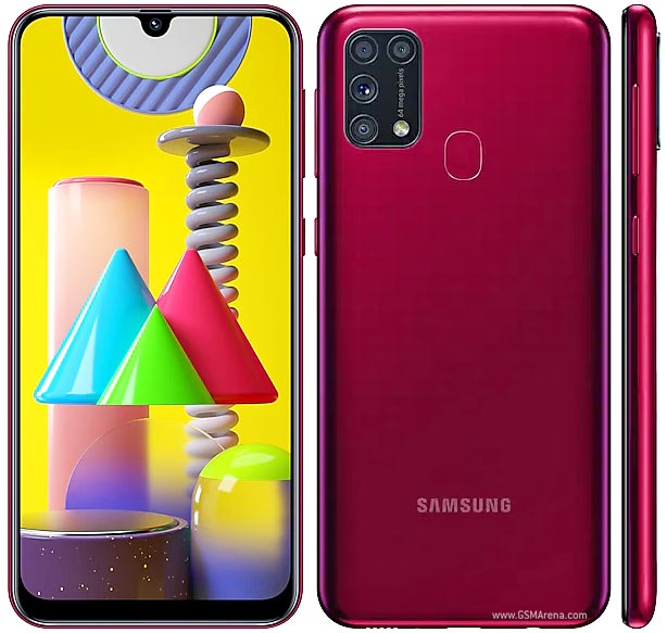 Samsung Galaxy M31 Pictures Official Photos