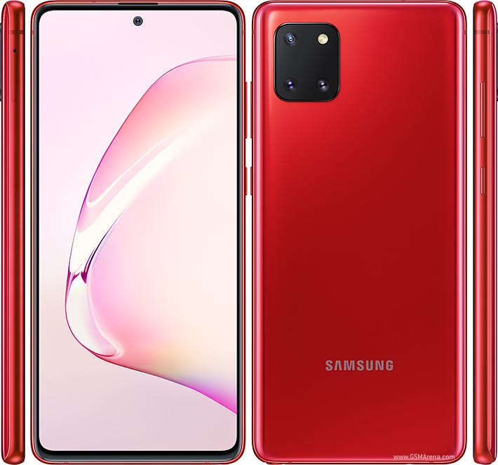 Samsung Galaxy Note10 Lite Pictures Official Photos
