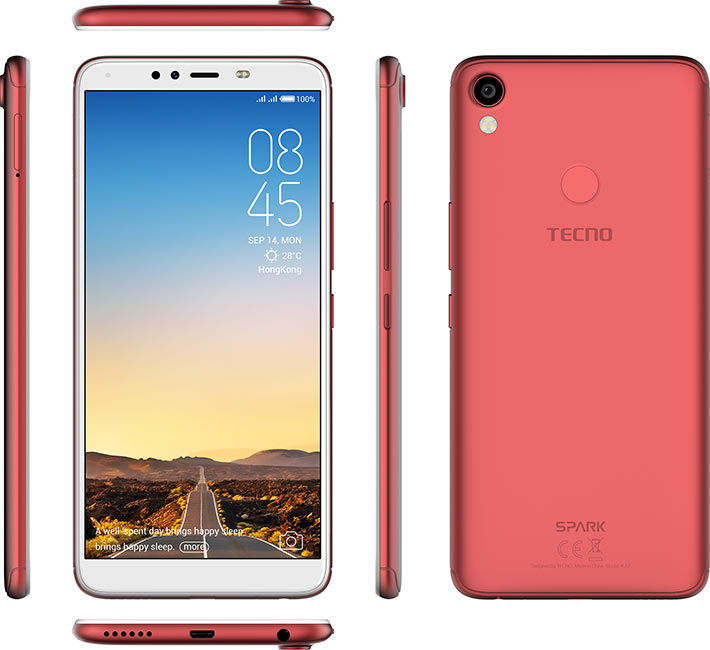 TECNO Spark 2 pictures, official photos