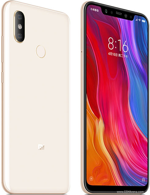 Xiaomi Mi 8 pictures, official photos